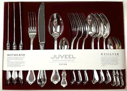 Gammal - Nysilver 16-pack. Juveel